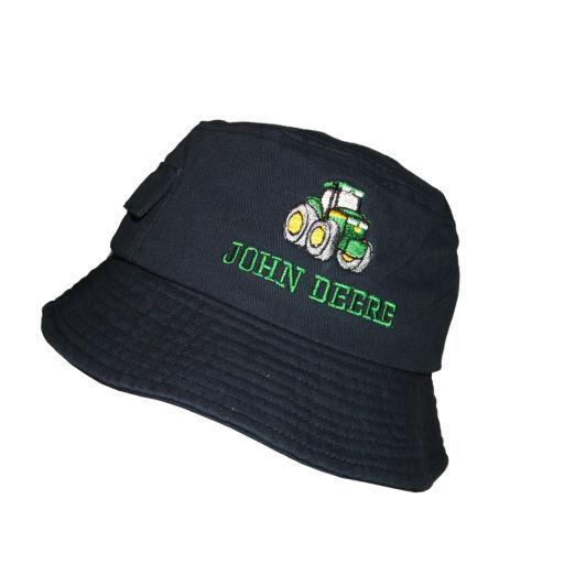 John Deere Navy Kids Bucket Hat (ID3123) (PN:  ID3123)
