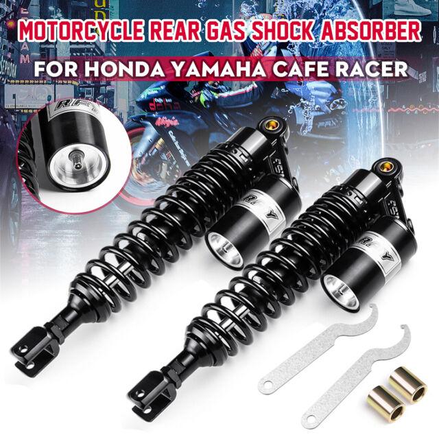 One Pair 360mm 14/'/' Motorcycle Rear Air Shock Absorbers Fit Yamaha Suzuki Honda