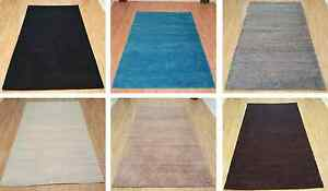 Shaggy Area Rugs Solid Colors 5x7 And 8x10 Contemporary