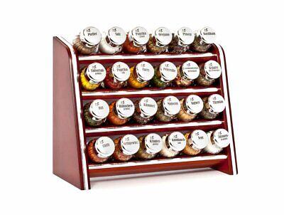 Gewürzregal Gewürzständer Gewürzbehälter Hängendes//stehendes für 40 Gläser