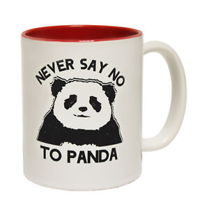 Funny-Mugs-Never-Say-No-To-Panda-Pet-Cat-Dog-Christmas-NOVELTY-MUG-secret-santa