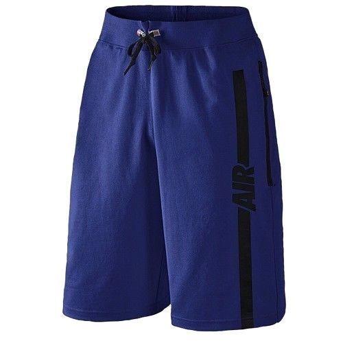 54835445cdd Nike Air Pivot V3 Mens Basketball Fleece Shorts Sz S Small Royal Blue  728275 455