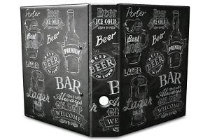 Archivador A4 Carpeta 2 anillas 60mm impreso  Tipos de cerveza