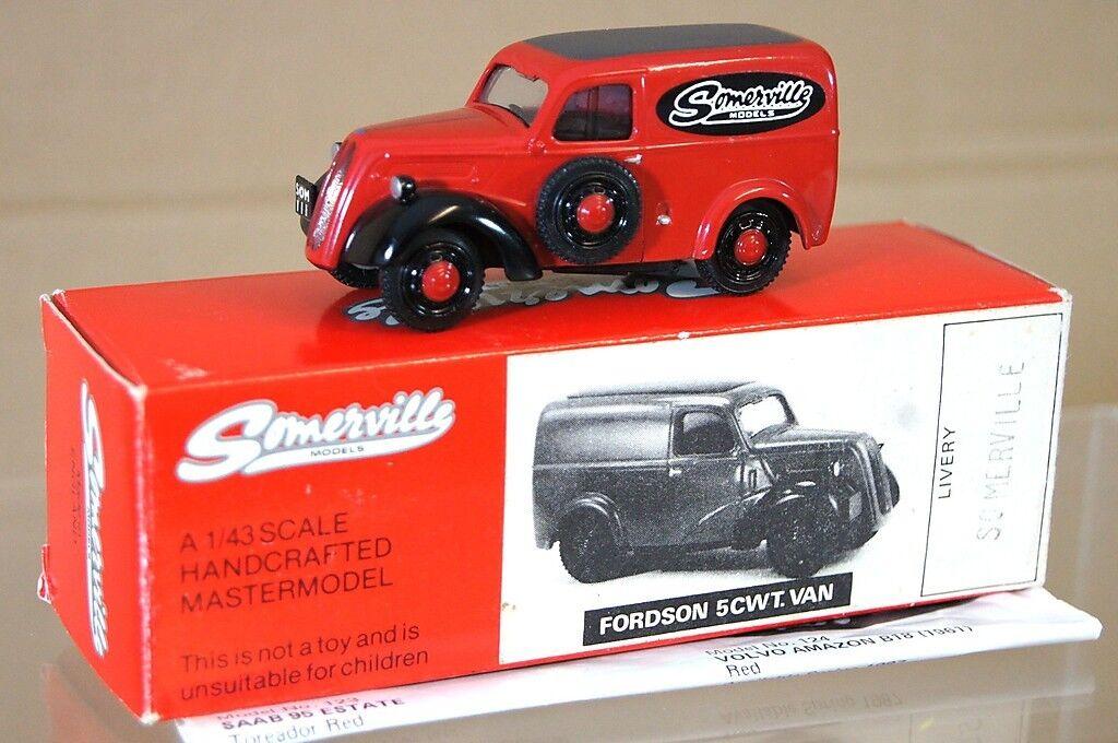 SOMERVILLE MODELS 1949 FORDSON E494C 5CWT VAN SOMERVILLE MODELS na