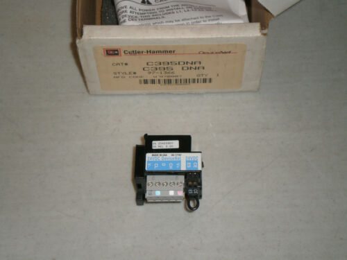 Cutler-Hammer C395DNA DeviceNet Module for C395 Series C395 DNA 97-1366 New