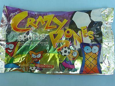 characters 1-40 Item #00150 NIP Set of 3 Crazy Bones SPORTS Go Go/'s