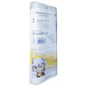 Vacuum-Bags-Seal-Rolls-MagicVac-Reusable-Packing-Food-Storage-Durable-30cm-x-6m