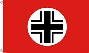 Details about Germany Balkenkreuz Iron Cross Air Identification 5'x3' Flag