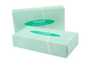 8db655ccc05 Details about 36 x BOXES ULTRA SOFT LUXURIOUS WHITE FACIAL FAMILY TISSUES  100 FIL 2PLY TISSUE