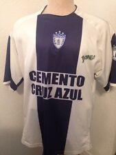 Pachuca Club De Futbol Cemento Cruz Azul Soccer Jersey Sz 40 See Measurements