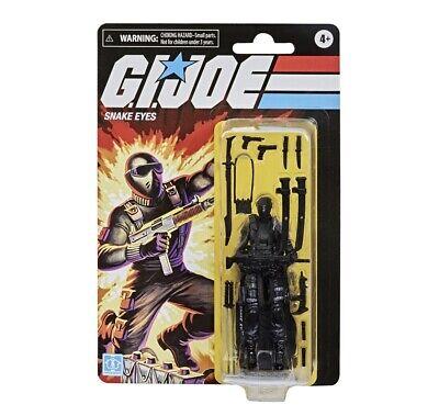 CONFIRMED Pre Order! SNAKE EYES GI Joe Retro Collection Walmart Exclusive