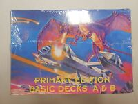 Galactic Empires Trading Card Game Box Primary Edition Basic Decks A&b Rare