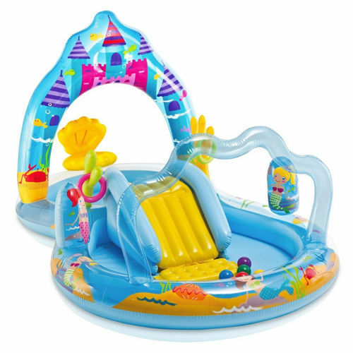 57139 NUOVO PISCINA GONFIABILE PLAY CENTER REGNO MADONNA PER BAMBINI INTEX ART
