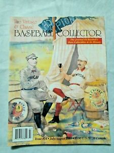 16-July-August-1998-The-Vintage-amp-Classic-Baseball-Collector-Magazine-VCBC