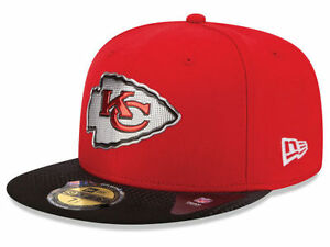 Official 2015 NFL Draft On Stage Kansas City Chiefs New Era 59FIFTY ... 1a492b683ee9