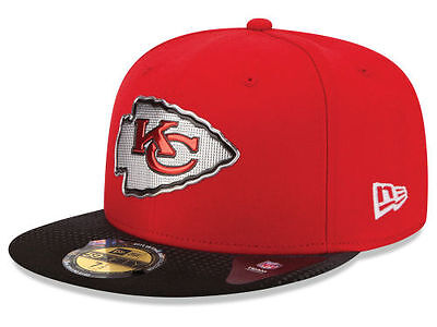 562bf7f3 Official 2015 NFL Draft On Stage Kansas City Chiefs New Era 59FIFTY Fitted  Hat | eBay