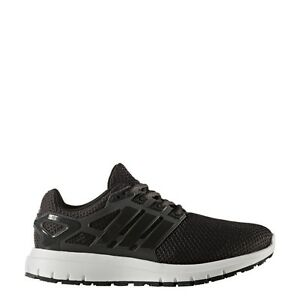 the best attitude 40113 65f45 Image is loading Mens-Adidas-Energy-Cloud-Black-Running-Athletic-Shoes-