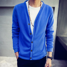 Kenneth Cole Reaction 2xl Royal Blue Lightweight V-neck Cardigan ...