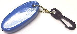 NEW BLUE Floating Key Chain Boat Key Float Marine Keys Jetski Waverunner Seadoo
