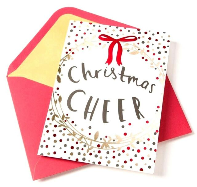 Papyrus Holiday Greetings 14 Note Cards and 14 Lined Envelopes