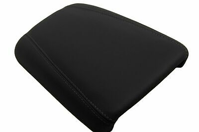 Console Armrest Leather Synthetic Cover for Chrysler 200 15-18 Gray Stitch
