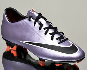 Nike Mercurial Victory V FG men soccer cleats football urban lilac 651632-580