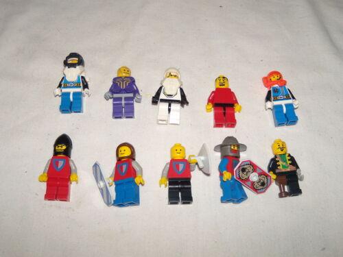Lot of 10 Lego Mini Figures