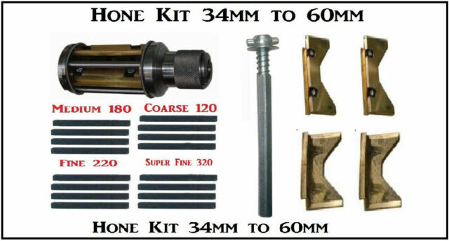CYLINDER ENGINE HONE KIT 45-65mm Honing Machine 4 set Honing Stones PREMIUM