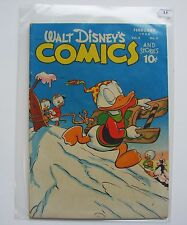 US - Walt Disney Comics and Stories (Dell) # 89 Graded 2.5
