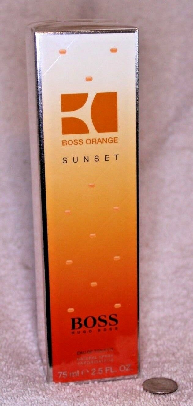 boss orange sunset 75ml