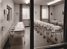 AK Berchtesgaden 1967 Baby-Zimmer Kreiskrankenhaus