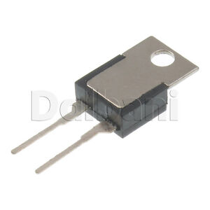 2pcs KSD 01F H055C Cantherm Thermostat Temperature Switch 250V 2 Pin 55 C