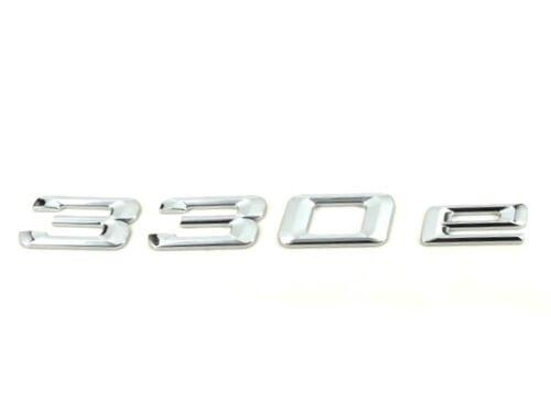 Saloon Genuine New BMW 330e Arrière Badge Coffre Emblème 3 Série F30 2015