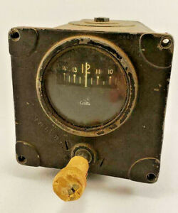 Vintage-Cessna-Direction-Gyro-Indicator-Gauge-Wichita-Kansas-77681-II