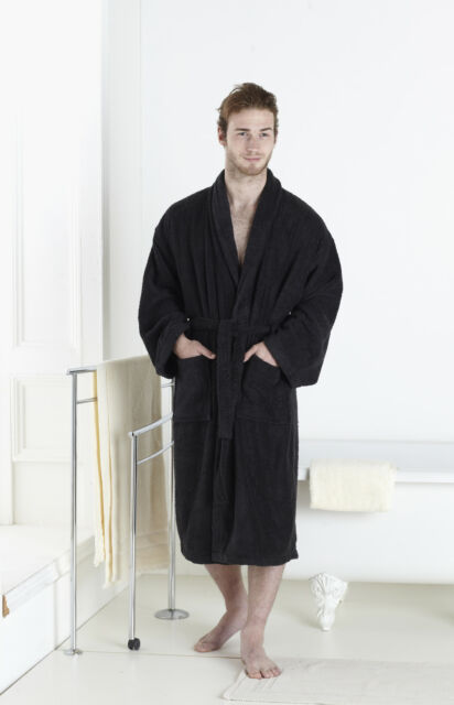 UNISEX 100/% LUXURY EGYPTIAN COTTON  TOWELLING BATH ROBE DRESSING GOWN
