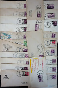 US-Stamps-Cover-Collection-Lot-of-30