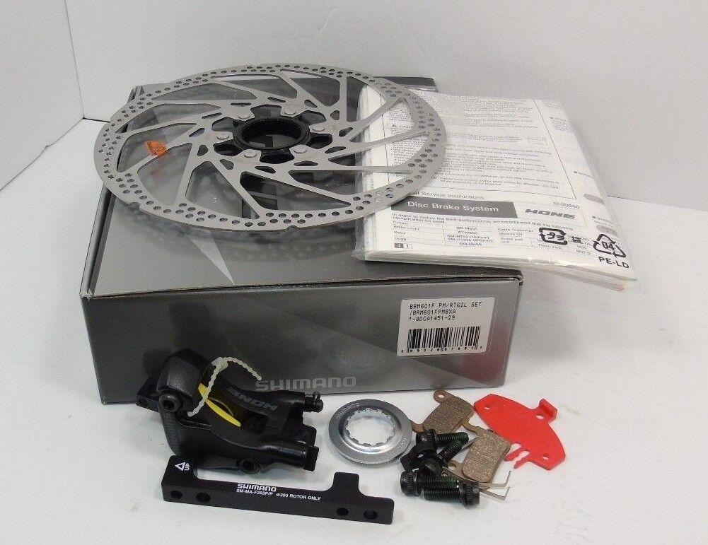 Original Nos Shimano Hone Disc Brake Set, Front, BR-M601, Brand New in Box