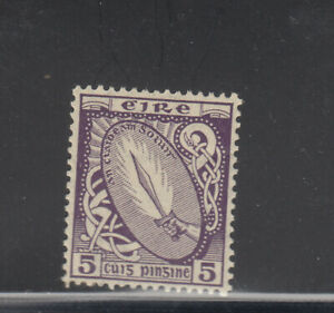 Ireland-1922-23-5-d-sword-Sc-72-VLH