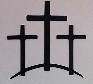 Trinity Crosses Wall Decor Ebay