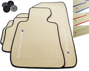 Rubber and Carpet Floor Mats Protectors BMW 3 Series 1990-2018