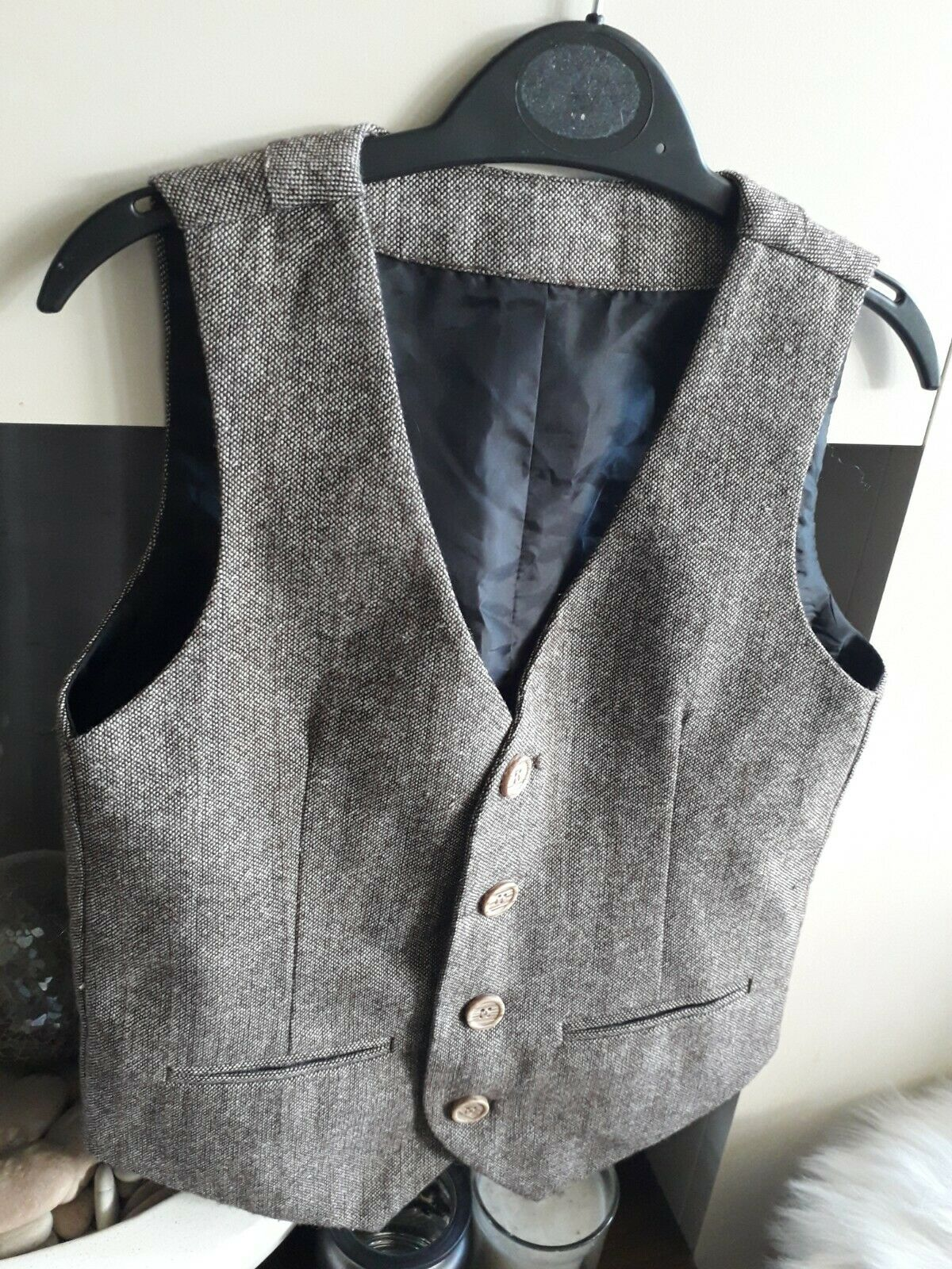 Boys waistcoat m&s age 6.7 years wedding party holiday exc condition worn once