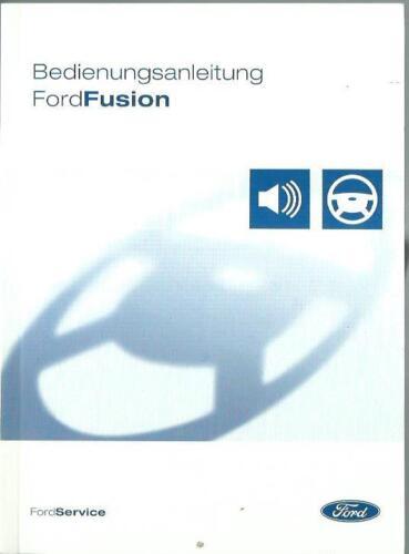 FORD   FUSION  Betriebsanleitung 2004  Bedienungsanleitung   Handbuch BA
