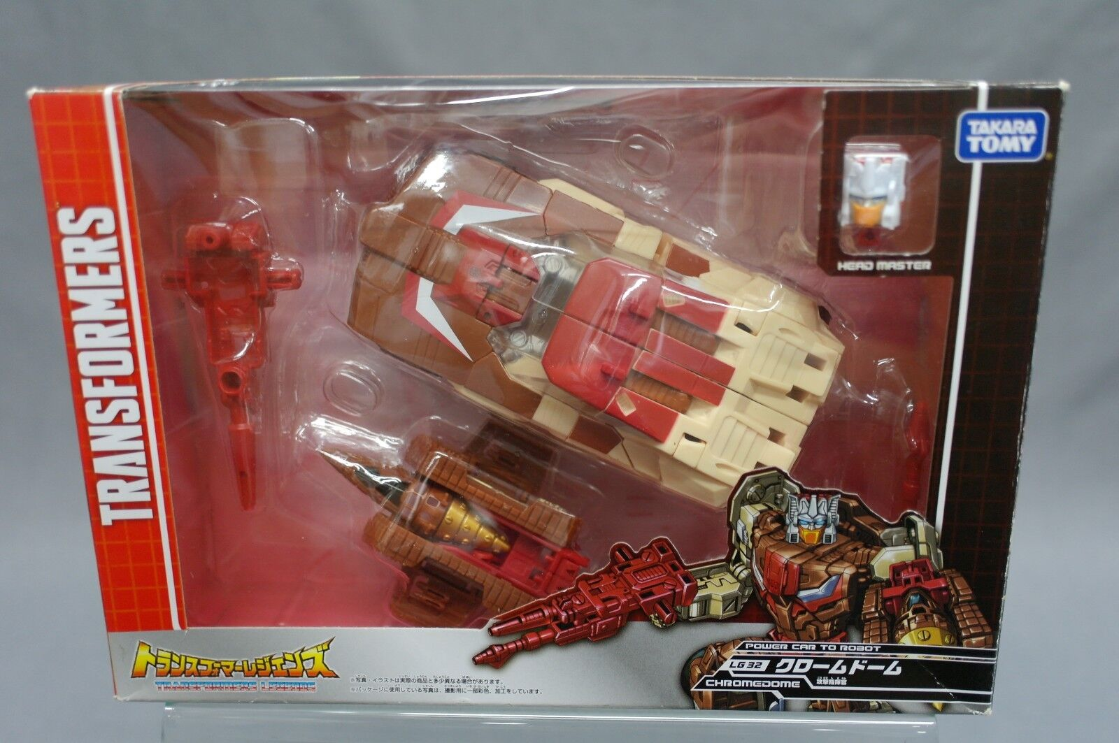 Transformers Legends LG32 Chromedome USED (Figure good condition Little damaged)
