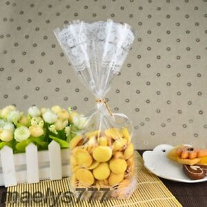 Amical Sachet Cellophane Bonbon Confiserie Biscuit Cookies 14 X 27,5cm. Lot 10/30/50pcs