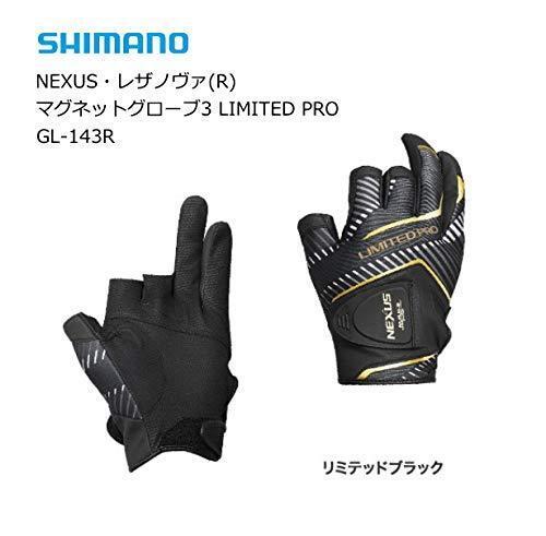 Shimano Nexus lezanova lezanova lezanova ® Imán Guante 3 Corte Limitada Pro GL-143R Negro Japón Nuevo 417c5c