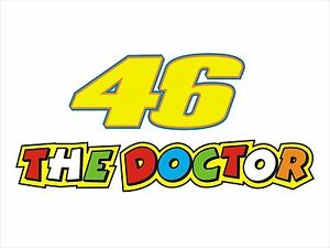 The Doctor 46 The Doctor Sticker Decal Graphic Vinyl Label