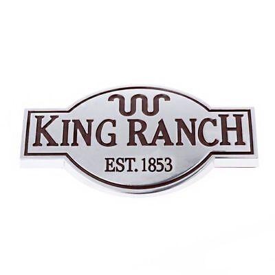 2 Pcs OEM King Ranch F150 3D Emblems Badges Door Tailgate For Ford F-150