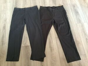 2 Paire De Hommes French Connection Pantalon (36 S) - Excellent état