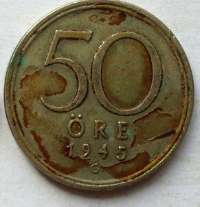 Sweden-1945-50-Ore-coin