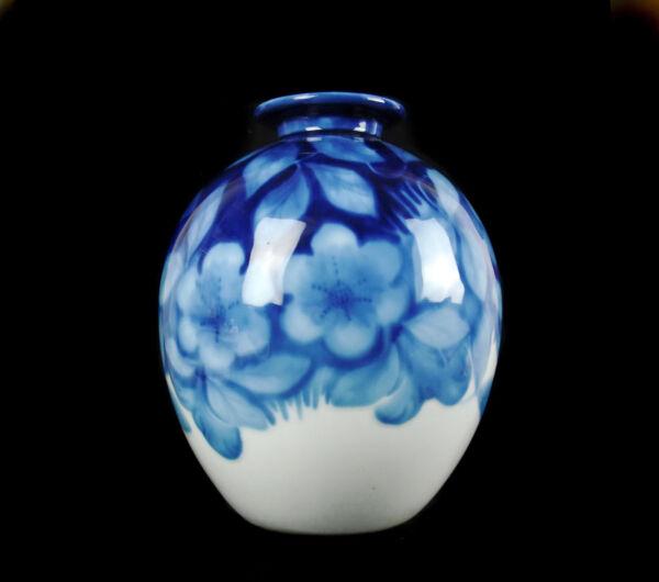 2019 DernièRe Conception Camille Tharaud Beau Vase Floral à Bouche évasée Limoge Art-déco Vers 1930 H27cm Haute SéCurité